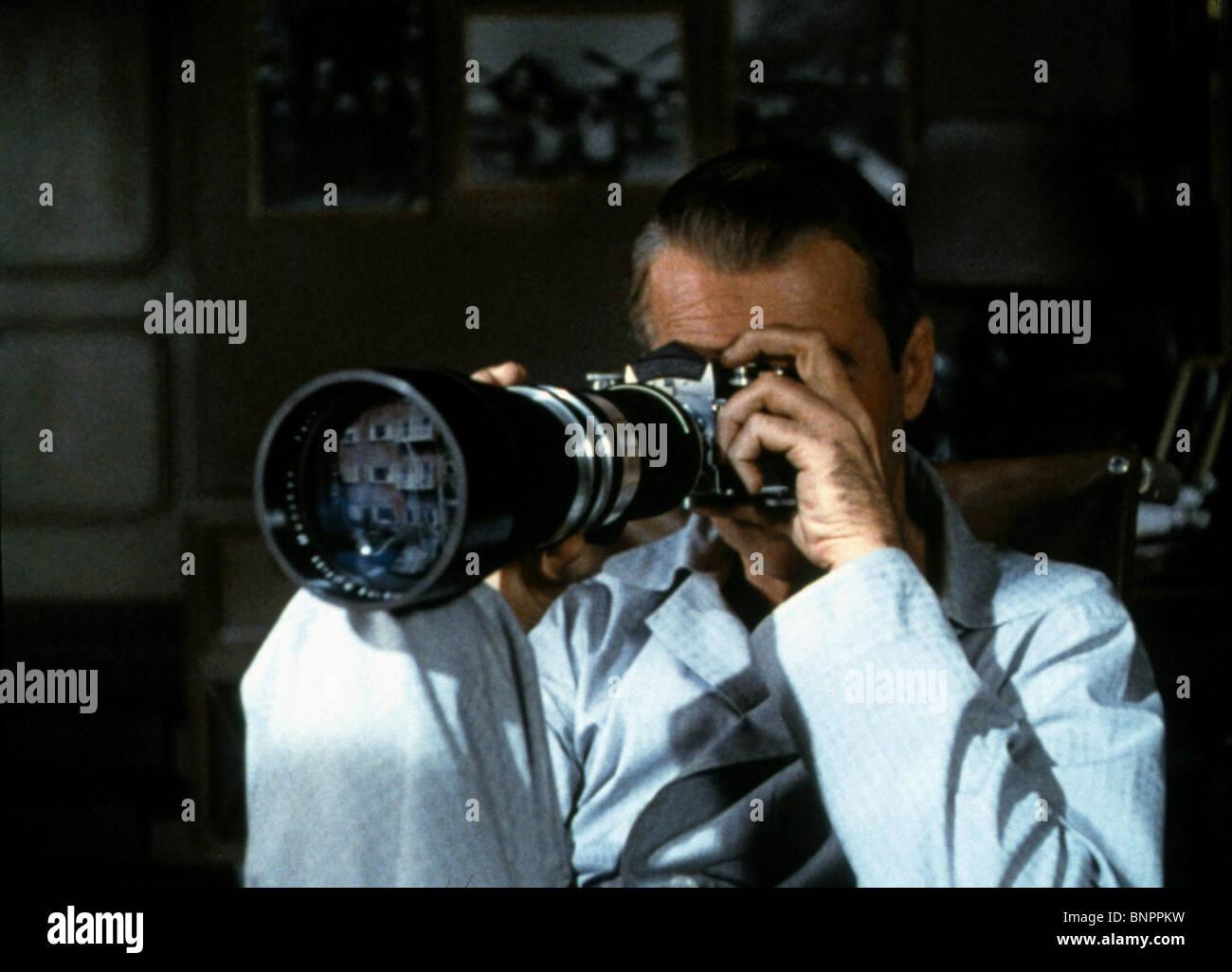 James Stewart Rear Window Camera
