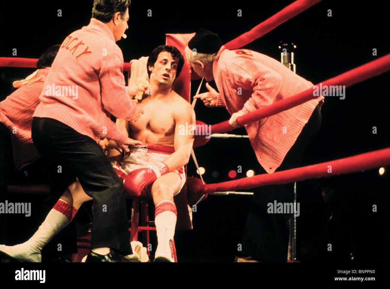 SYLVESTER STALLONE ROCKY (1976) - Stock Image