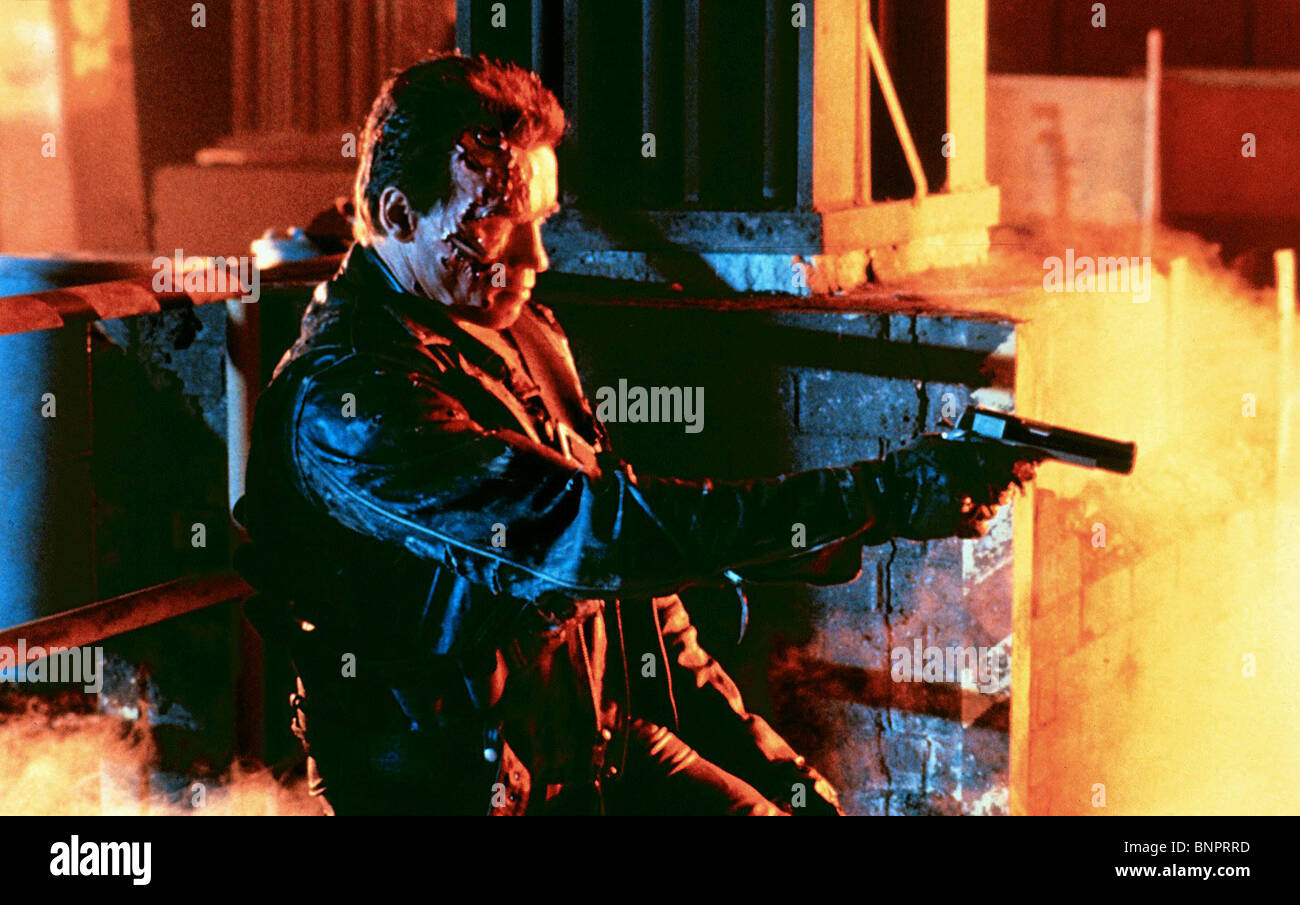 ARNOLD SCHWARZENEGGER TERMINATOR 2: JUDGMENT DAY (1991) - Stock Image