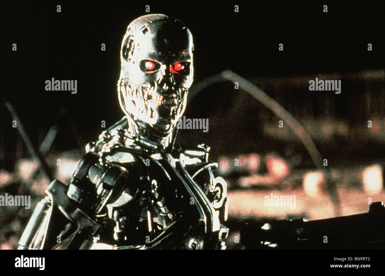 T-800 TERMINATOR 2: JUDGMENT DAY (1991) - Stock Image