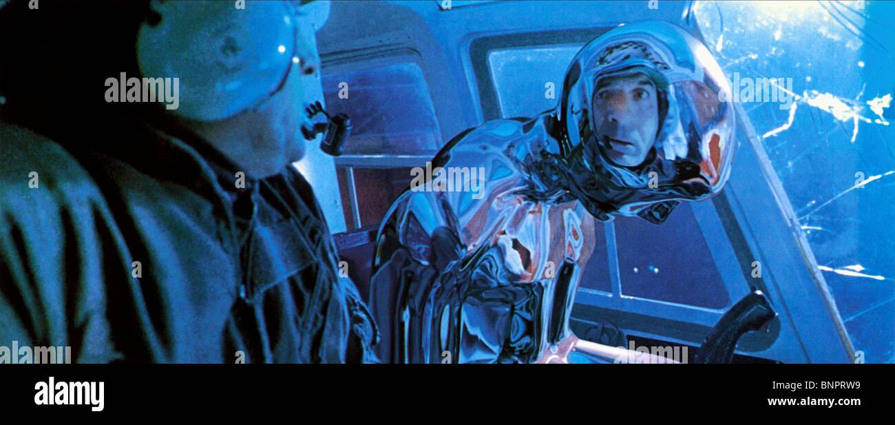 T-1000 CYBORG TERMINATOR 2: JUDGMENT DAY (1991) - Stock Image