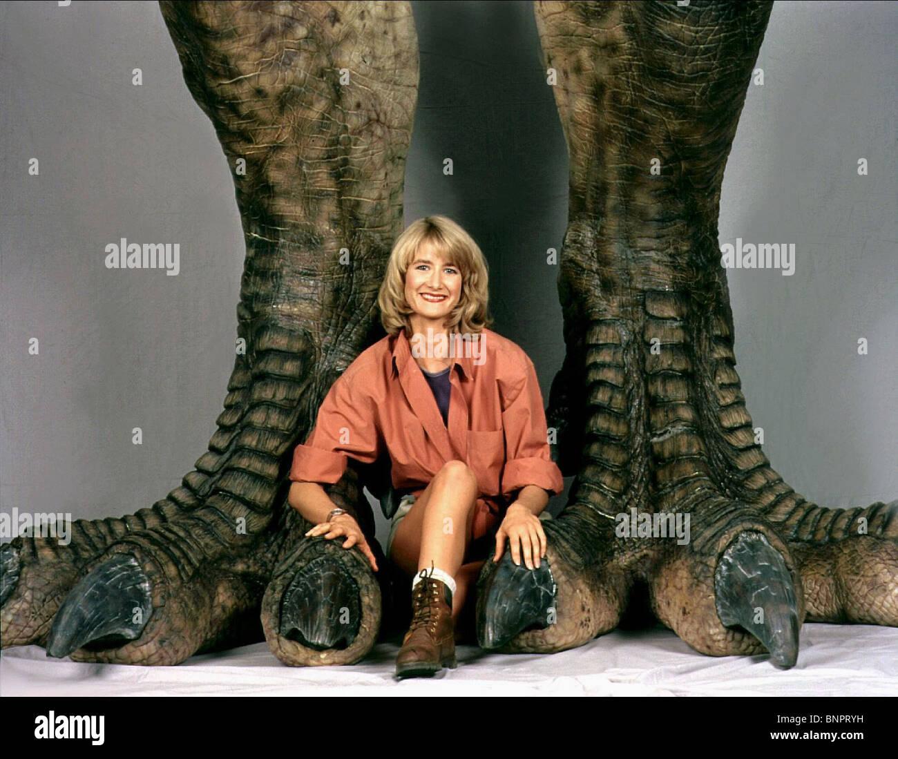 LAURA DERN JURASSIC PARK (1993) - Stock Image