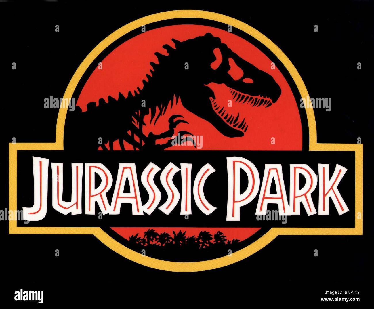 FILM ARTWORK JURASSIC PARK (1993) - Stock Image