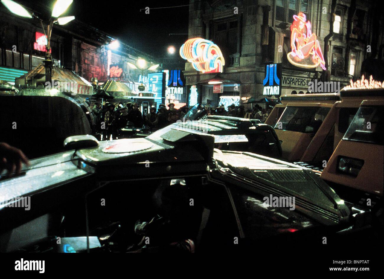 FUTURISTIC STREET SCENE BLADE RUNNER (1982) - Stock Image