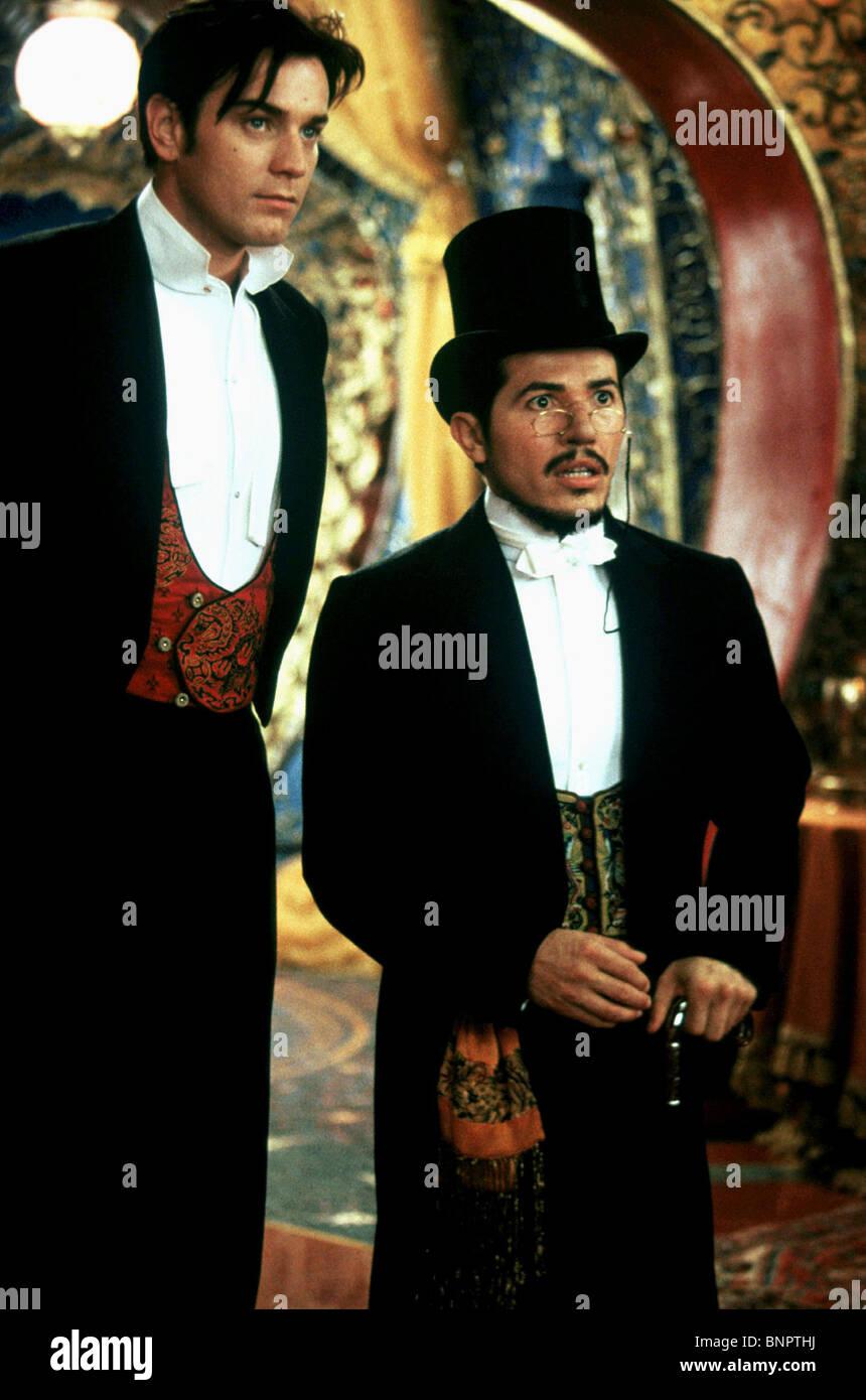 EWAN MCGREGOR & JOHN LEGUIZAMO MOULIN ROUGE! (2001 Stock Photo ...