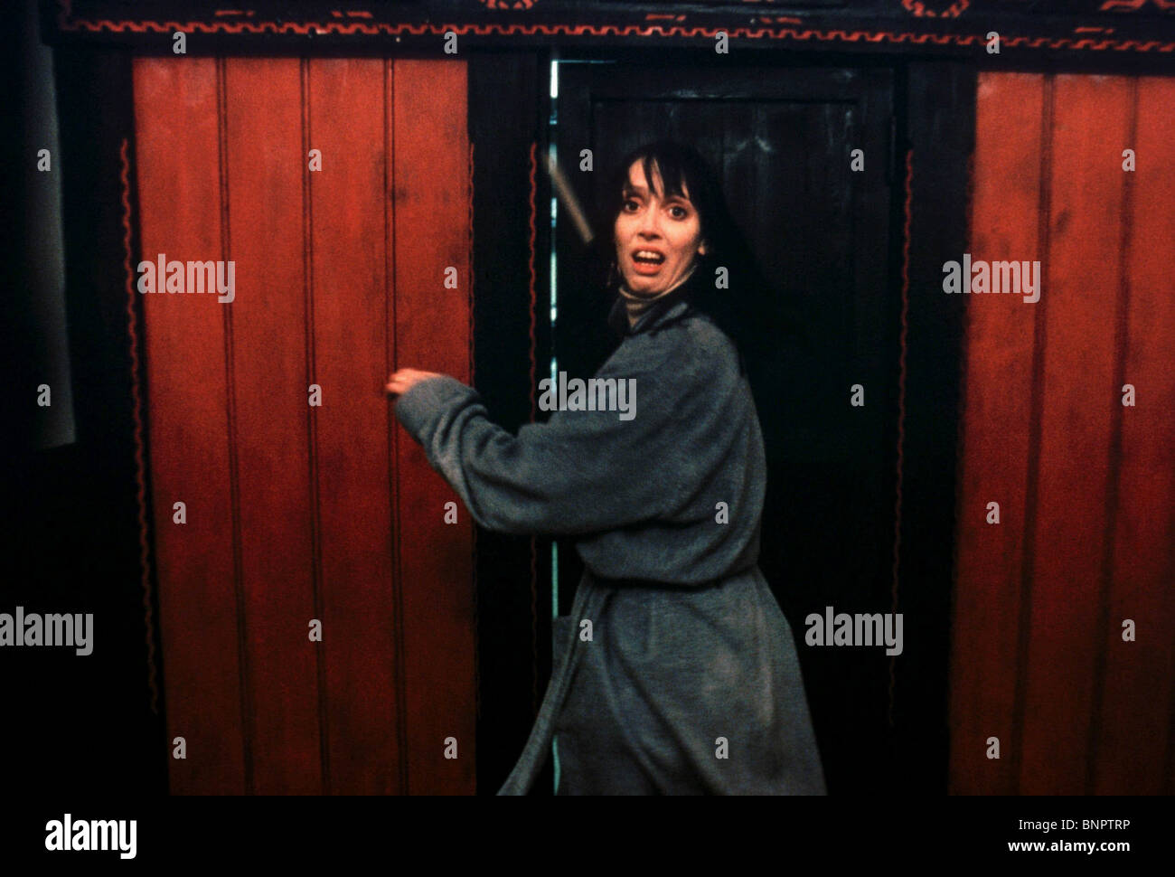 SHELLEY DUVAL THE SHINING (1980) - Stock Image