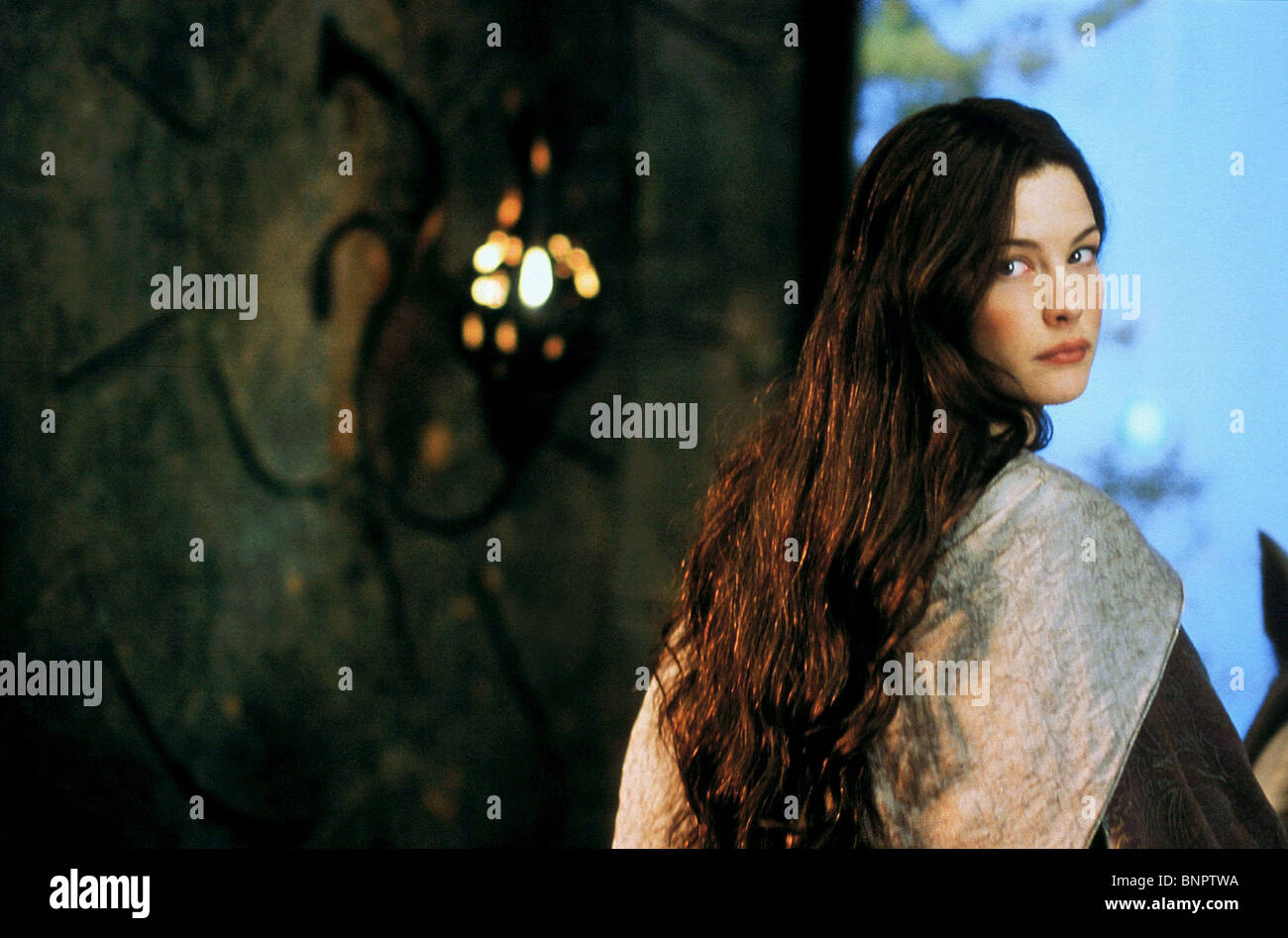 Liv Tyler The Lord Of The Rings The Two Towers 2002 Stock Photo Alamy