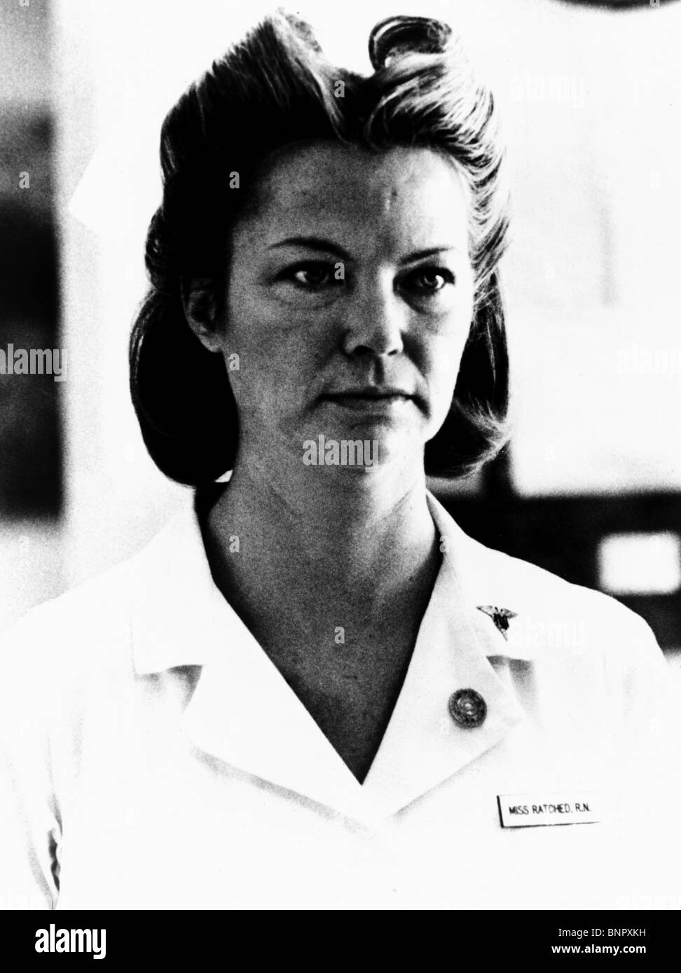 LOUISE FLETCHER ONE FLEW OVER THE CUCKOOS NEST (1975) Stock Photo