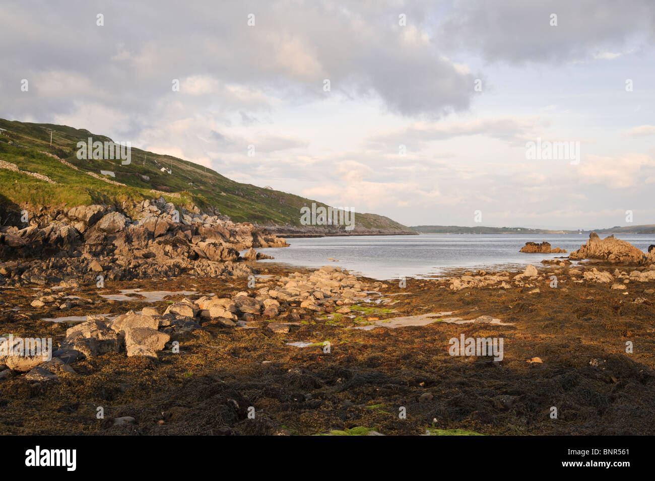 Clifden Bay Connemara County Galway Republic of Ireland - Stock Image