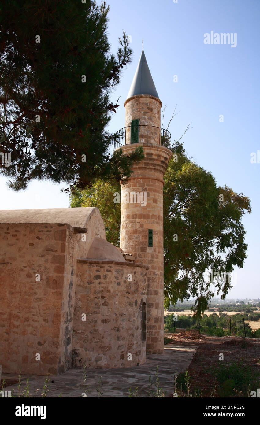 Turkish Mosque Polis Paphos Cyprus EU Europen Union Europe - Stock Image