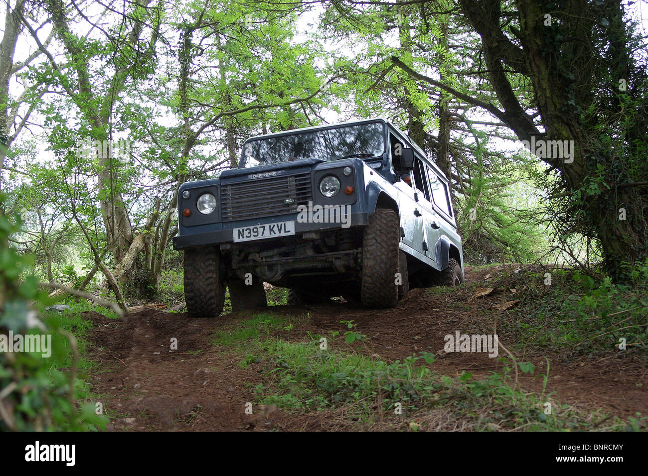 Land Rover Defender 110 Driving Stock Photos & Land Rover ...