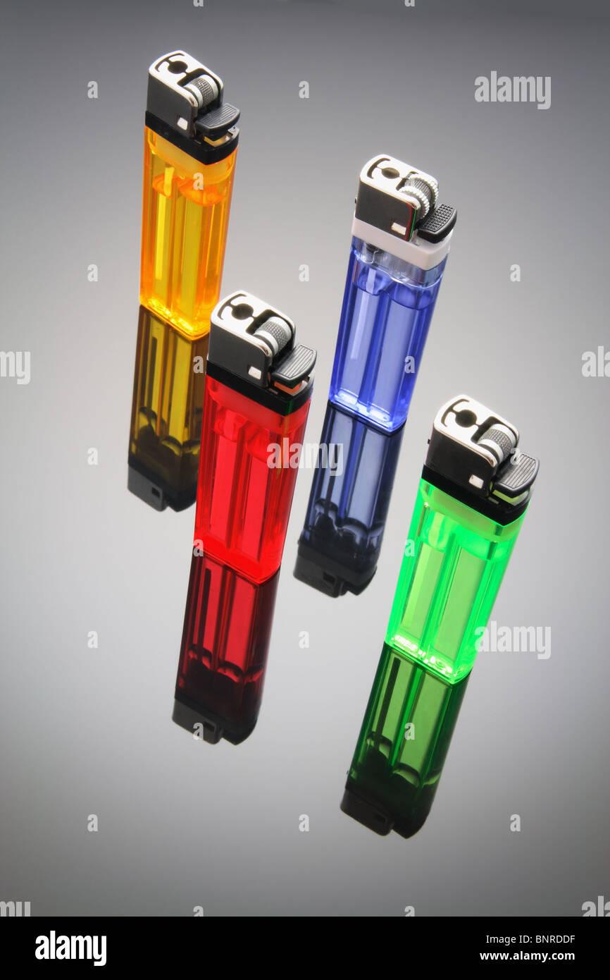 Cigarette Lighters - Stock Image