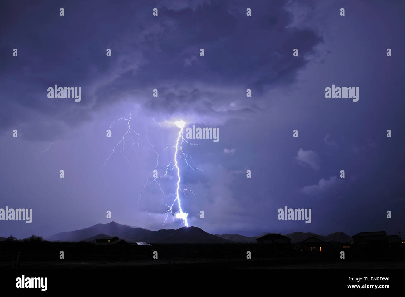 Tucson Lighting - Stock Image
