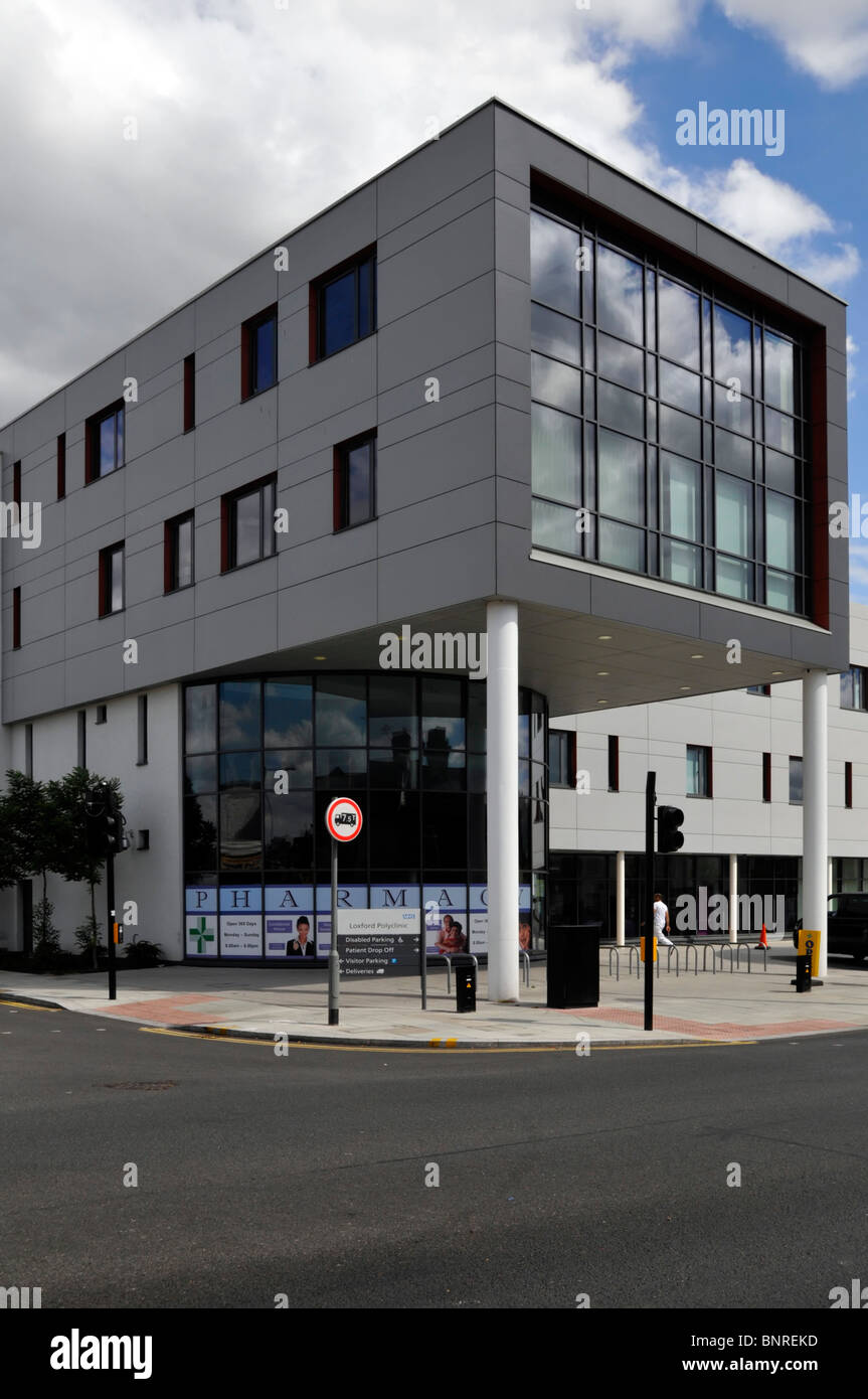 Loxford Polyclinic the first purpose built polyclinic - Stock Image