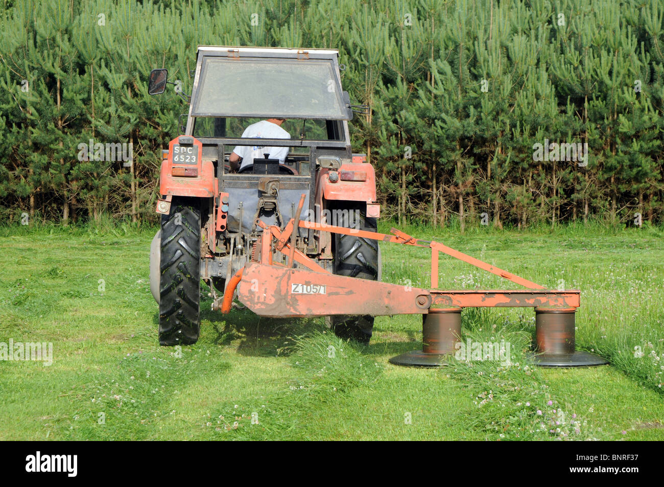 Rotary mower for tractor 76