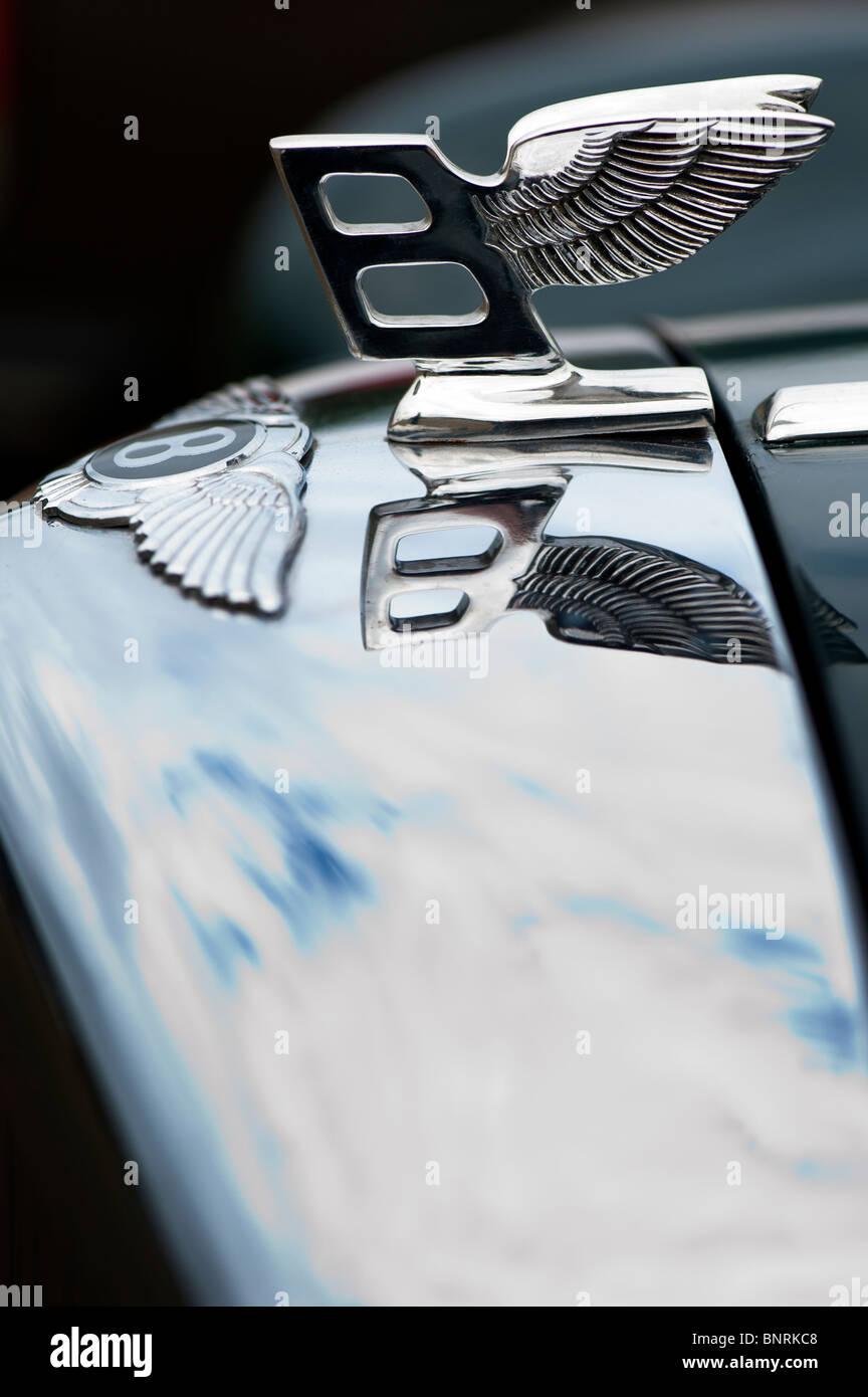 Badges & Mascots Precise Bentley Bonnet Badge Genuine Vintage