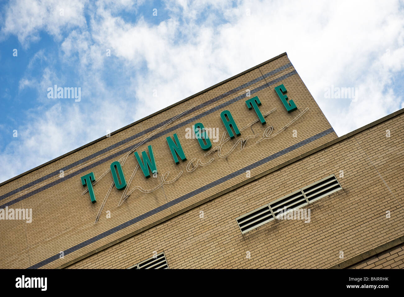 The Towngate Theatre in Basildon in Essex.  Photo by Gordon Scammell - Stock Image