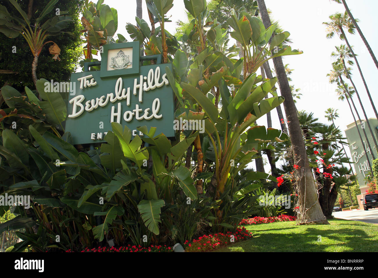 The Beverly Hills Hotel - Stock Image