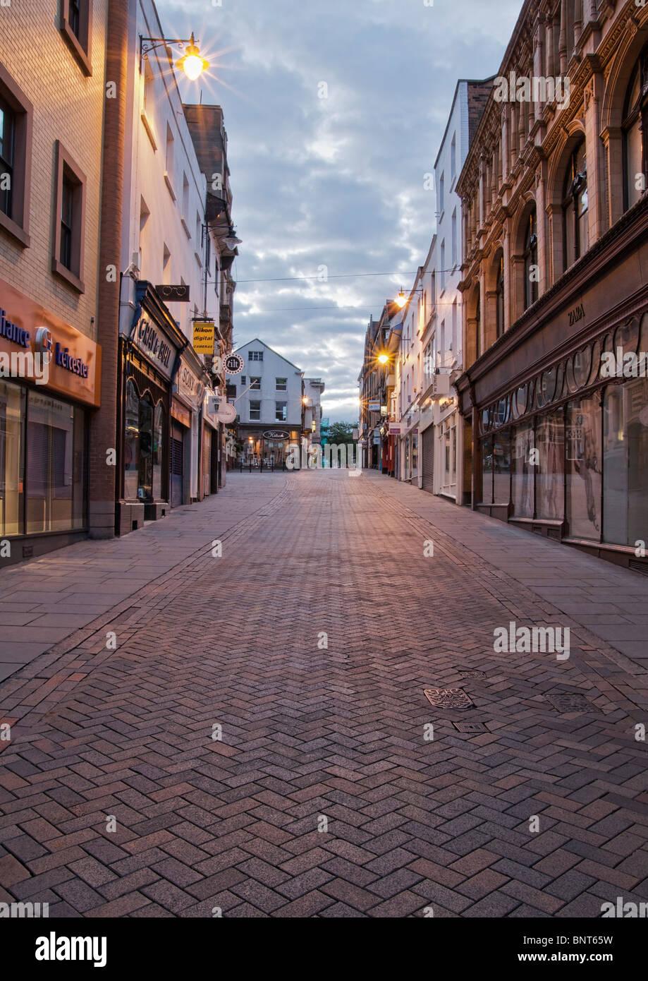 Pelham Street Nottingham Nottinghamshire United Kingdom - Stock Image