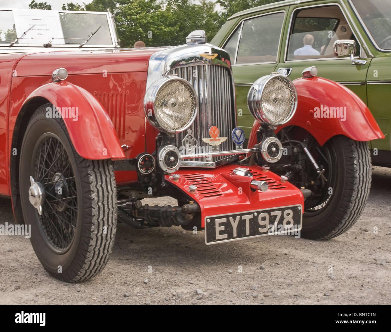 Aston Martin Le Mans 1935 motor car - Stock Image