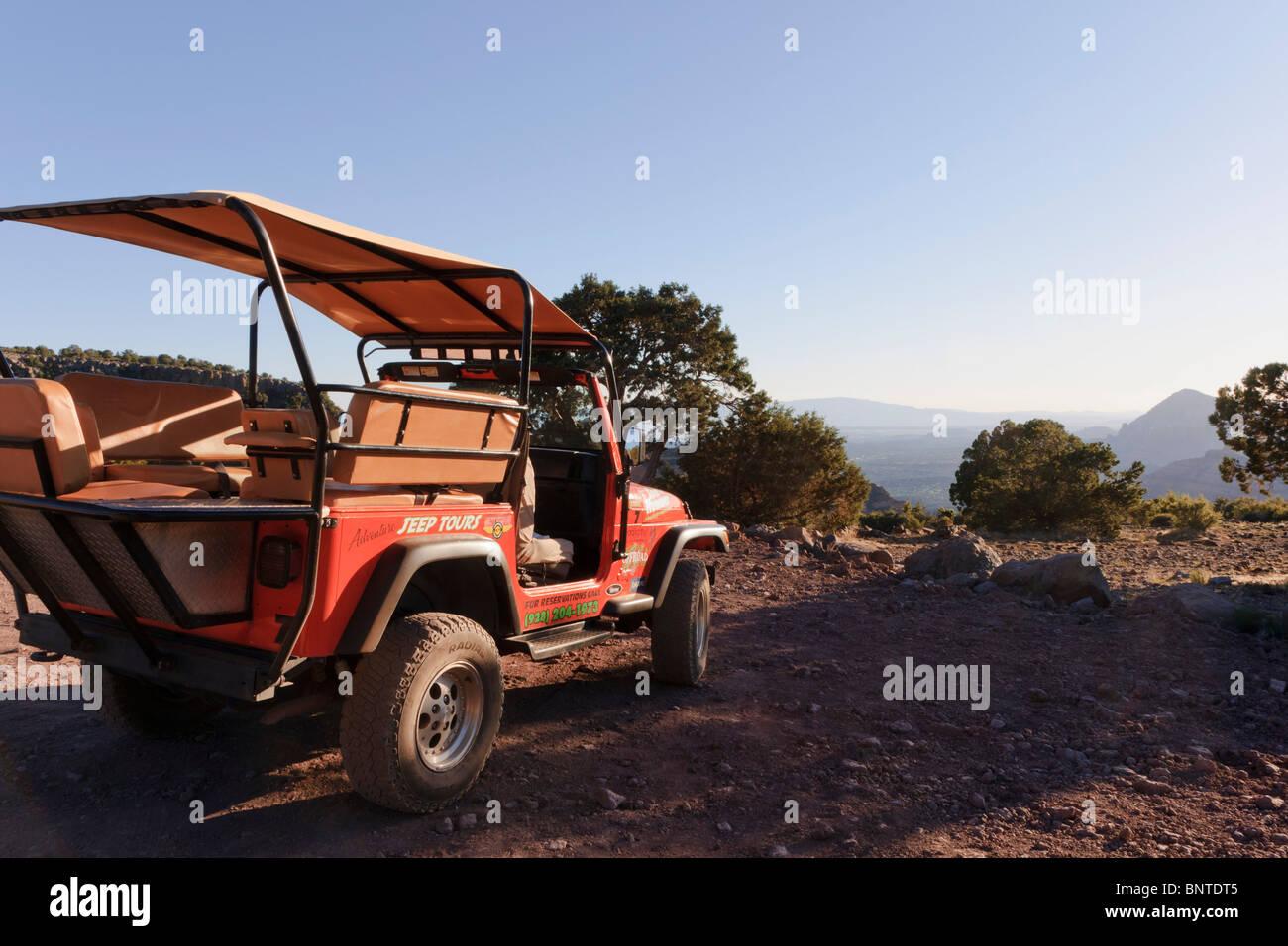 Sedona, Arizona, USA - Red Rock offroad 4X4 tours - at the