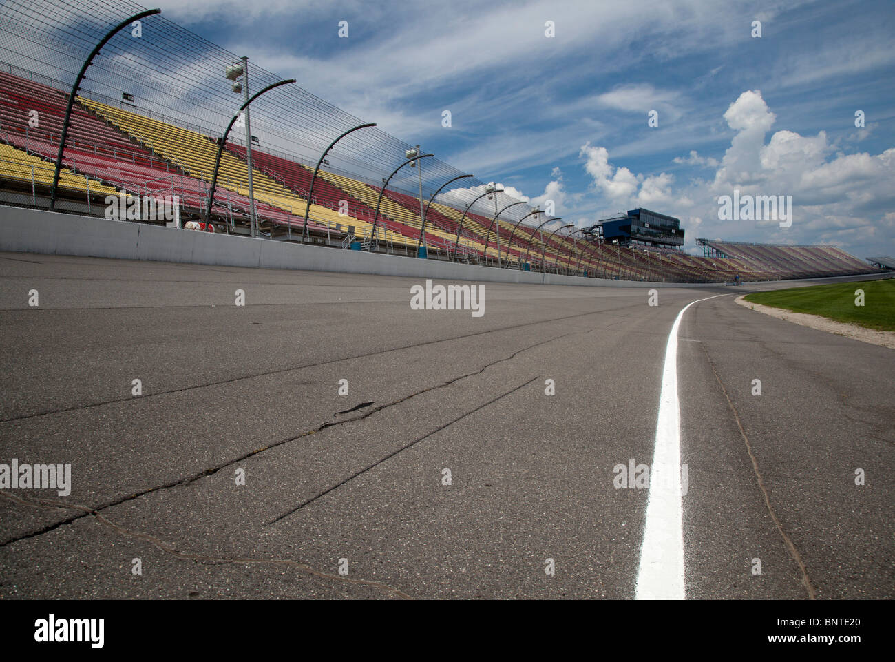 Michigan International Speedway - Stock Image