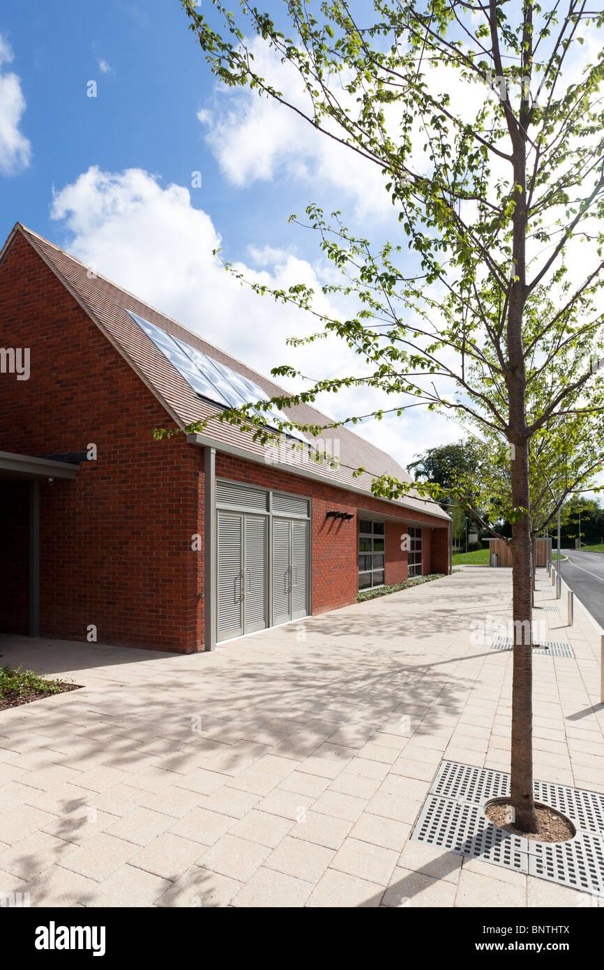 Abbotts Ann Church of England Primary School - Stock Image