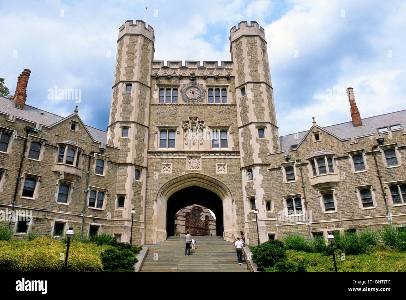 USA Princeton University Campus Blair Hall - Stock Image