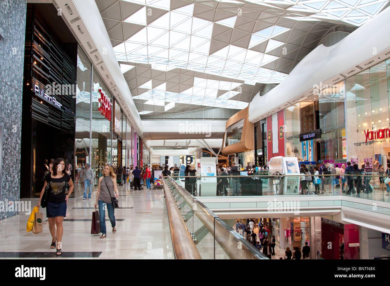 Westfield Shopping Centre - Shepherd's Bush - London - Stock Image