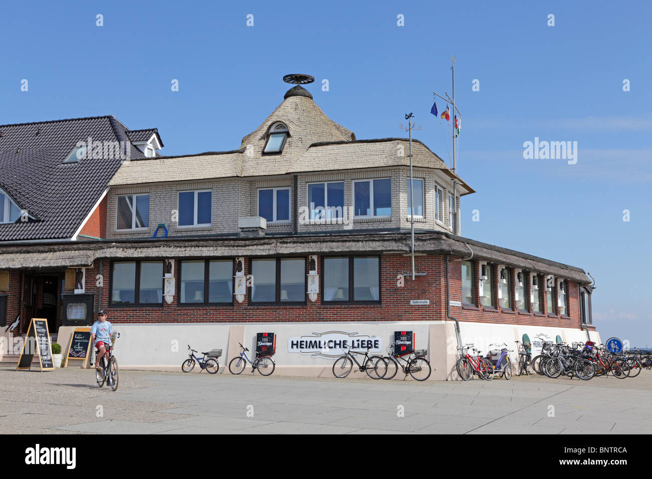 Restaurant Heimliche Liebe Borkum Island East Friesland North