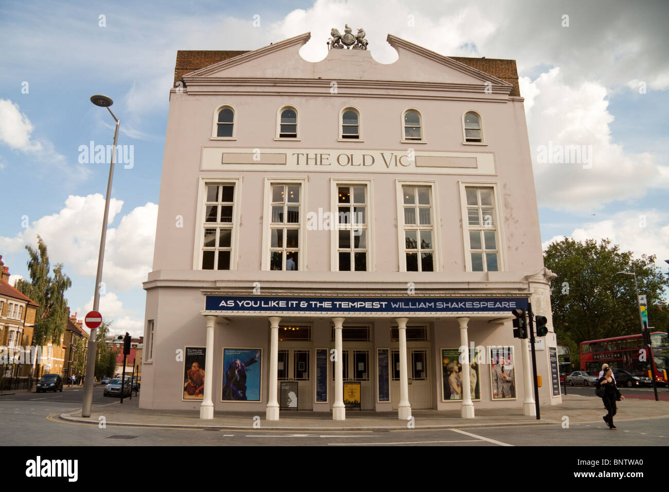 The Old Vic Theatre, The Cut, London, England, UK - Stock Image