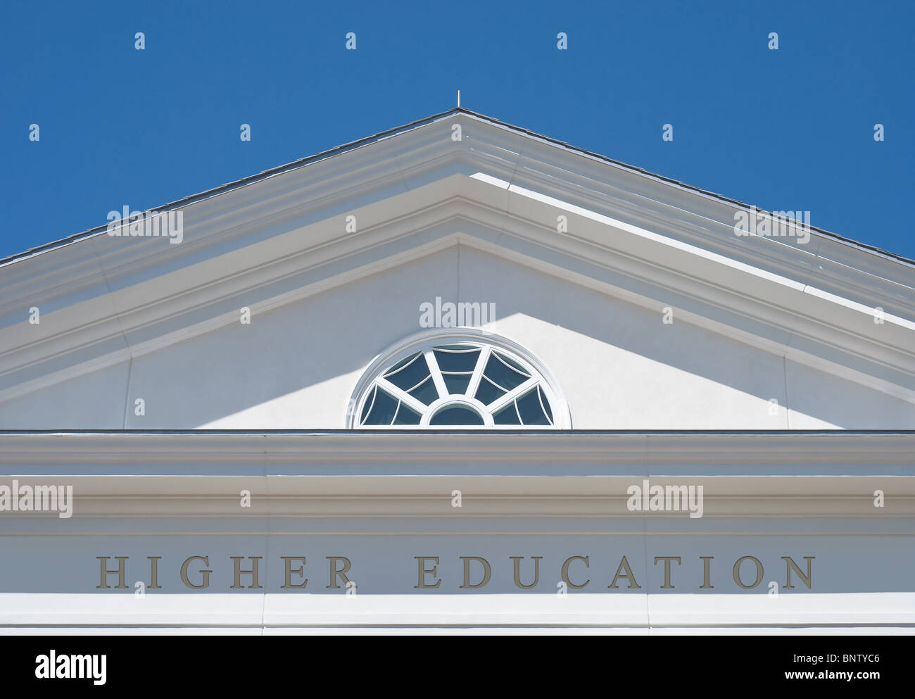 Higher Education as Path for a Successful Life - Stock Image
