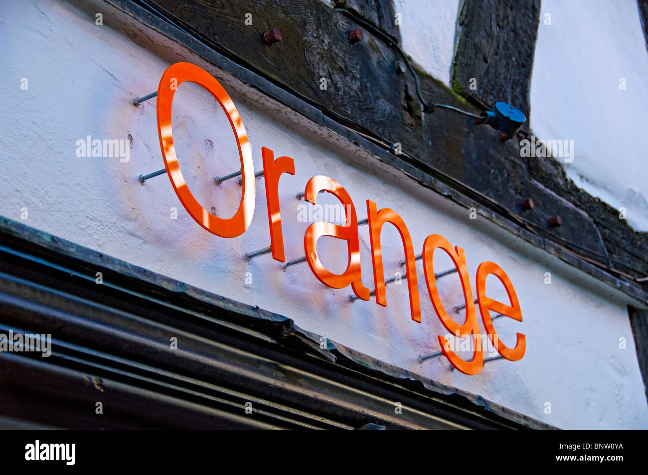 Orange mobile shop logo stock photos orange mobile shop for Orange mobel