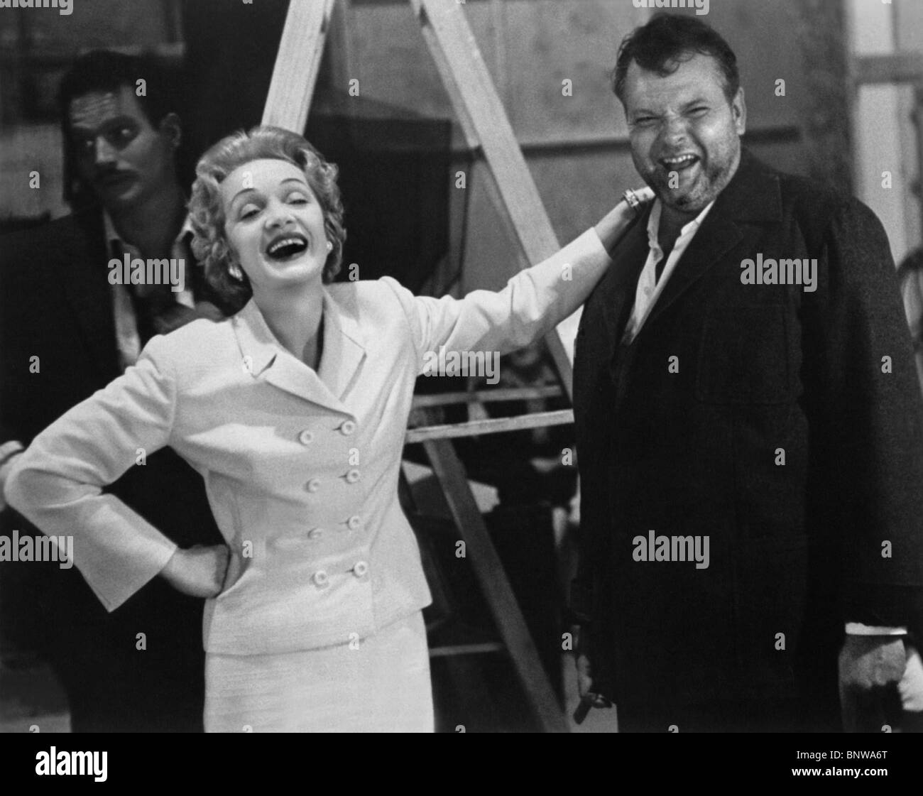 MARLENE DIETRICH, ORSON WELLES, TOUCH OF EVIL, 1958 Stock Photo - Alamy