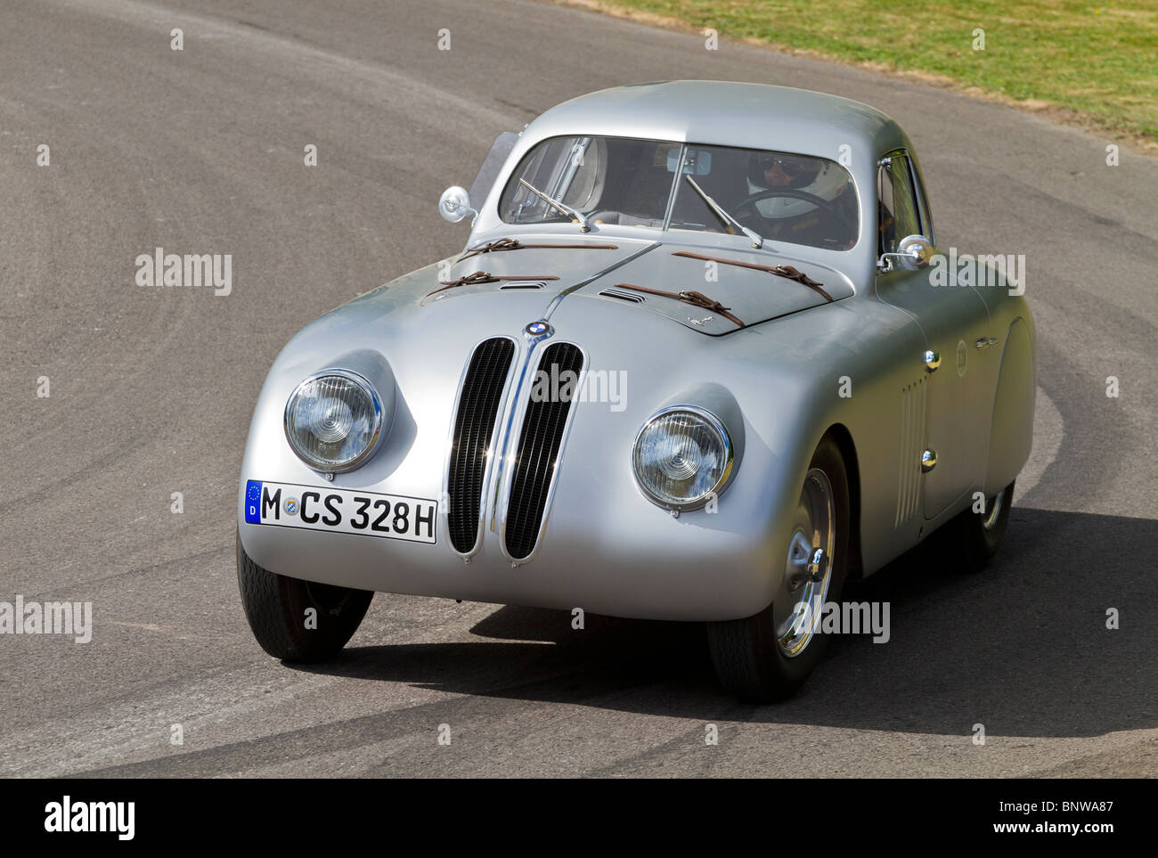 1939 BMW 328 MM Touring Coupe at the 2010 Goodwood Festival of Speed ...
