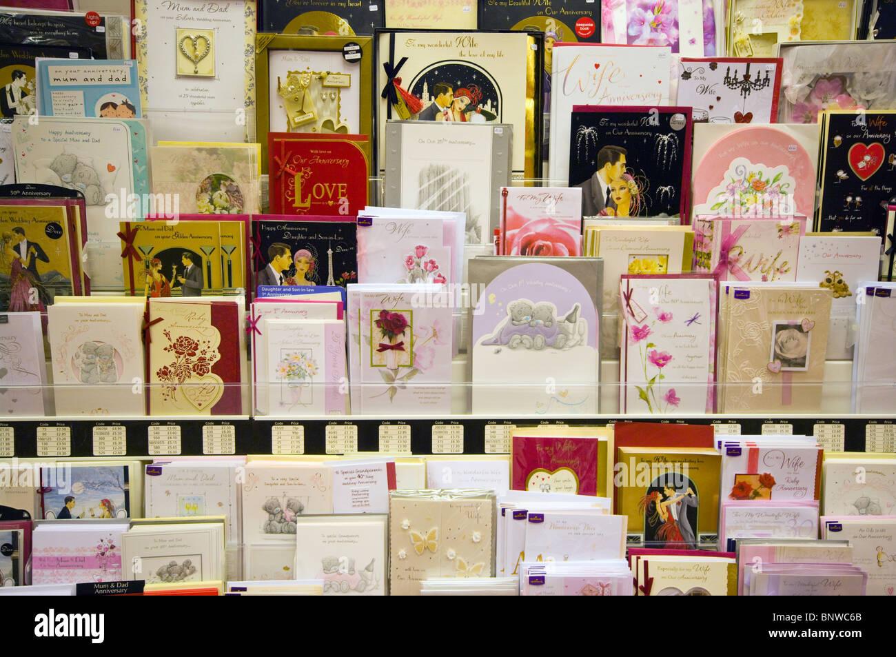Greetings Cards Display Stock Photo 30676531 Alamy