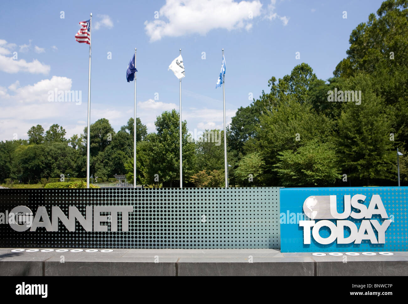 Gannet and USA Today Headquarters.  - Stock Image