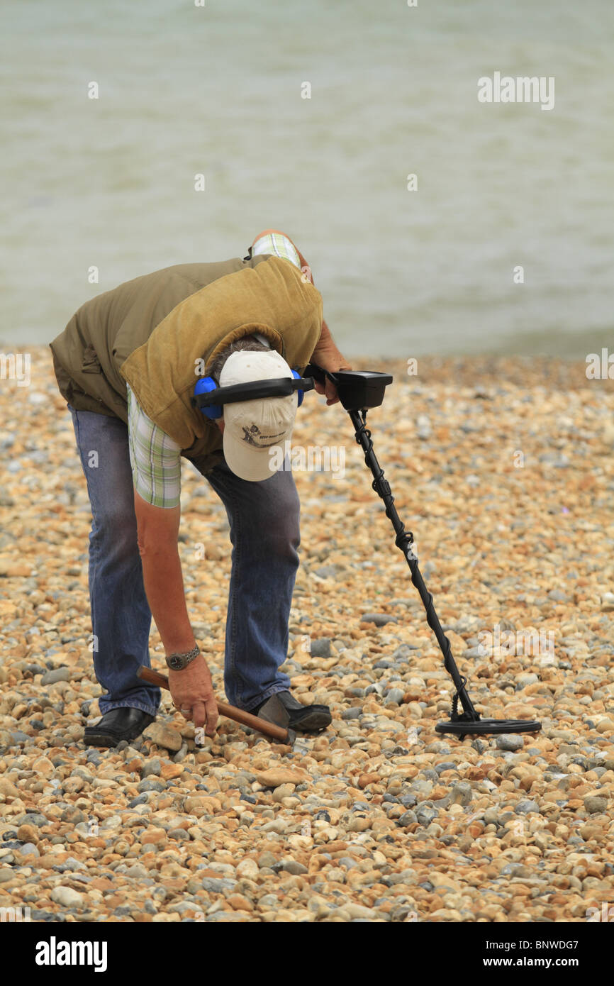 Jew Detector: A Man Searches For Buried Treasure Using A Metal Detector