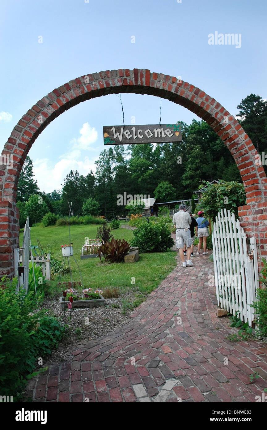Kentucky Communities Crafts, Barbourville, KY. - Stock Image