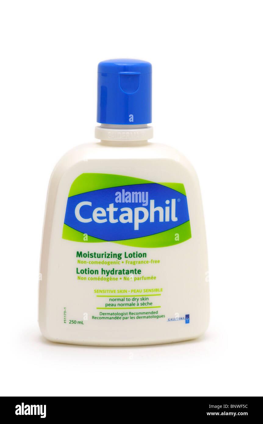 Moisturizing Lotion for Sensitive Skin (non-comedogenic) - Stock Image