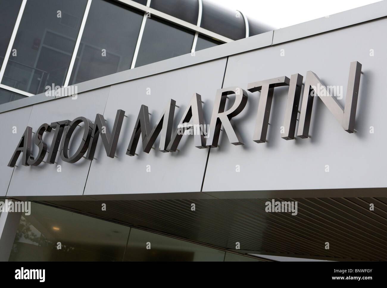 A Aston Martin car dealership.  - Stock Image