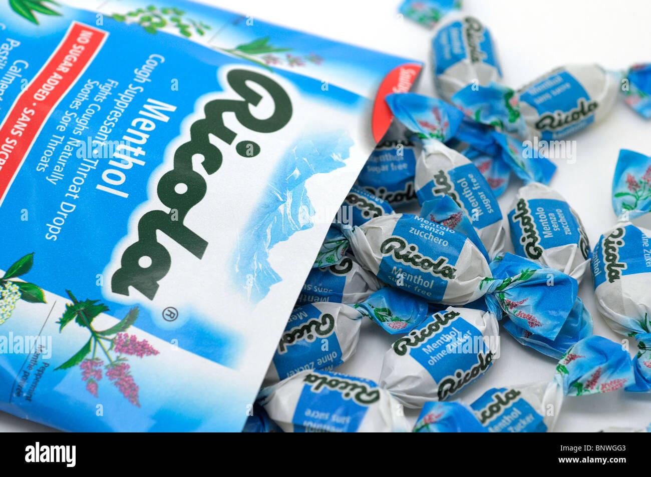 Cough Drops (Lozenges) - Stock Image