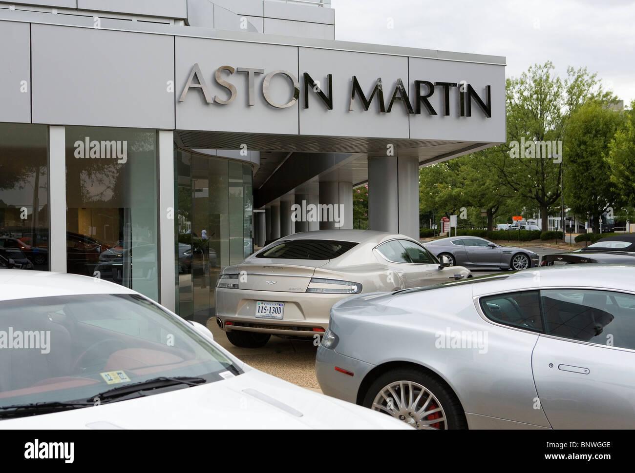 A Aston Martin Car Dealership Stock Photo Alamy - Aston martin car dealers