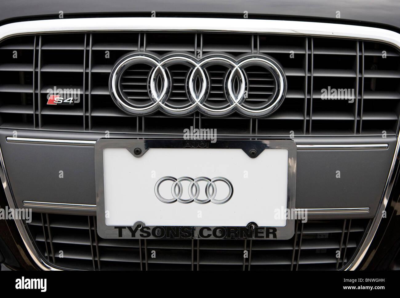 A Porsche and Audi car dealership.  - Stock Image