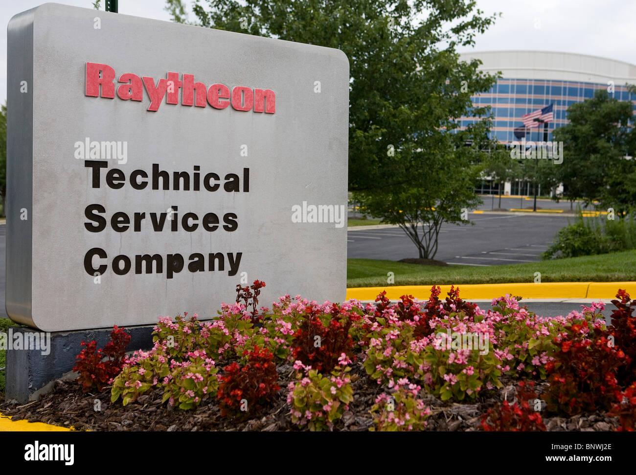 Raytheon Technical Services Company. - Stock Image