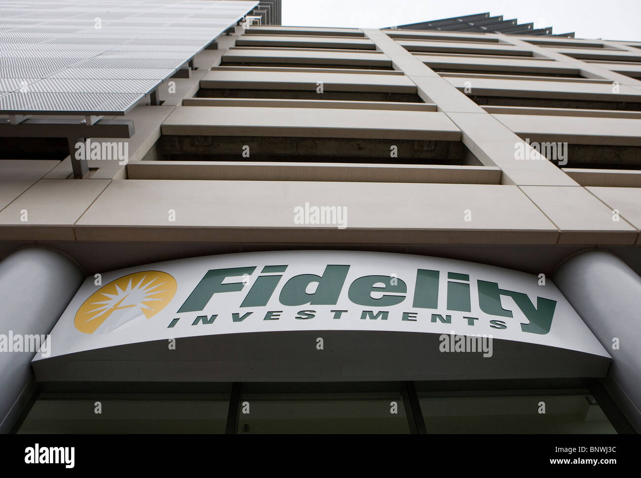 Fidelity Investments. - Stock Image