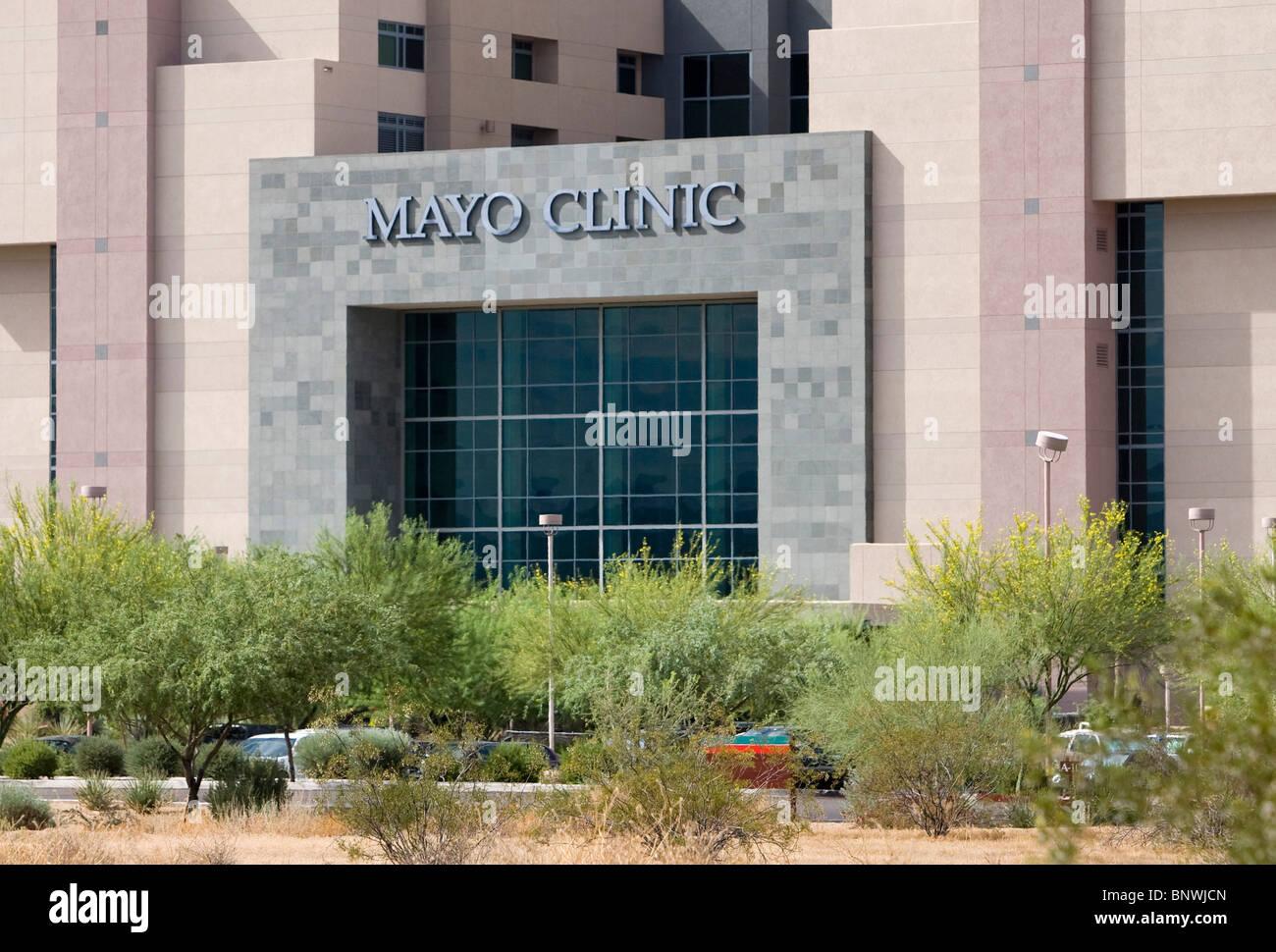 The Mayo Clinic in Arizona.  - Stock Image
