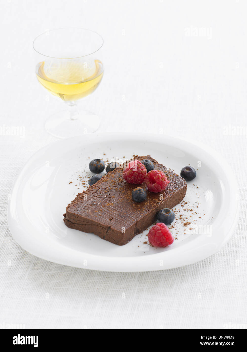 chocolate marquise - Stock Image