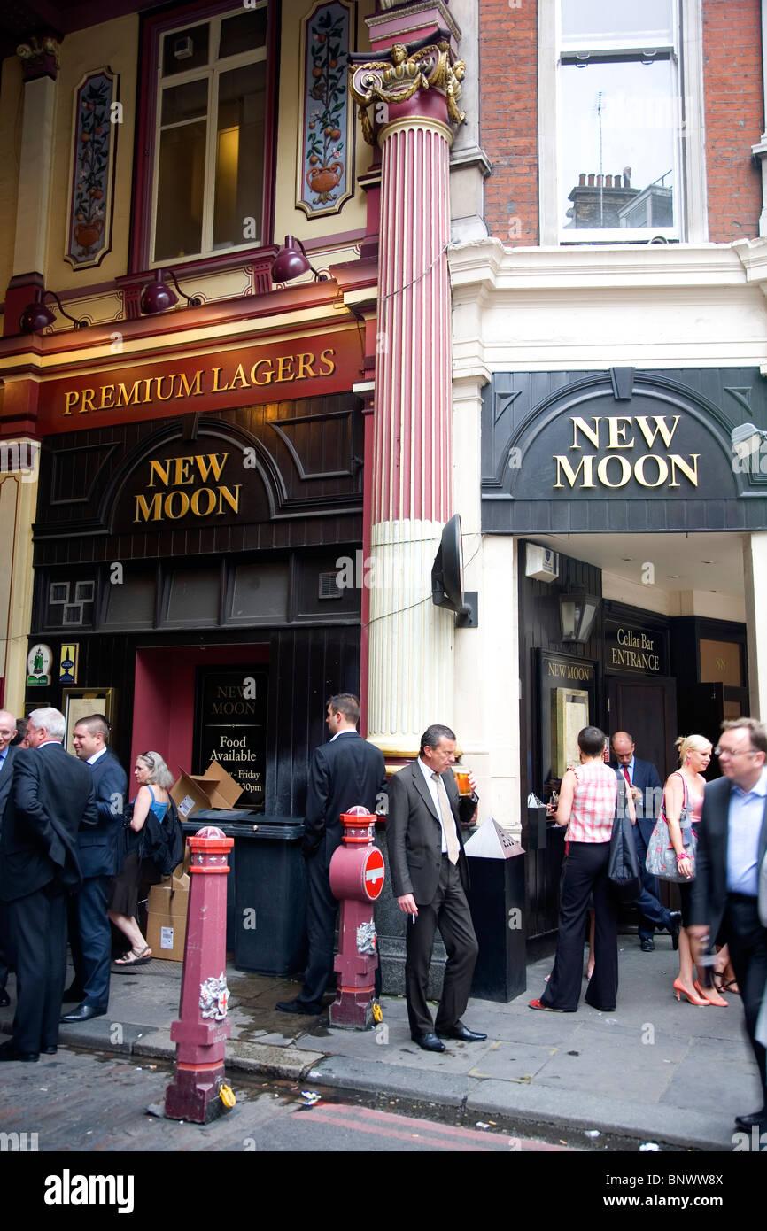 The new moon leadenhall market