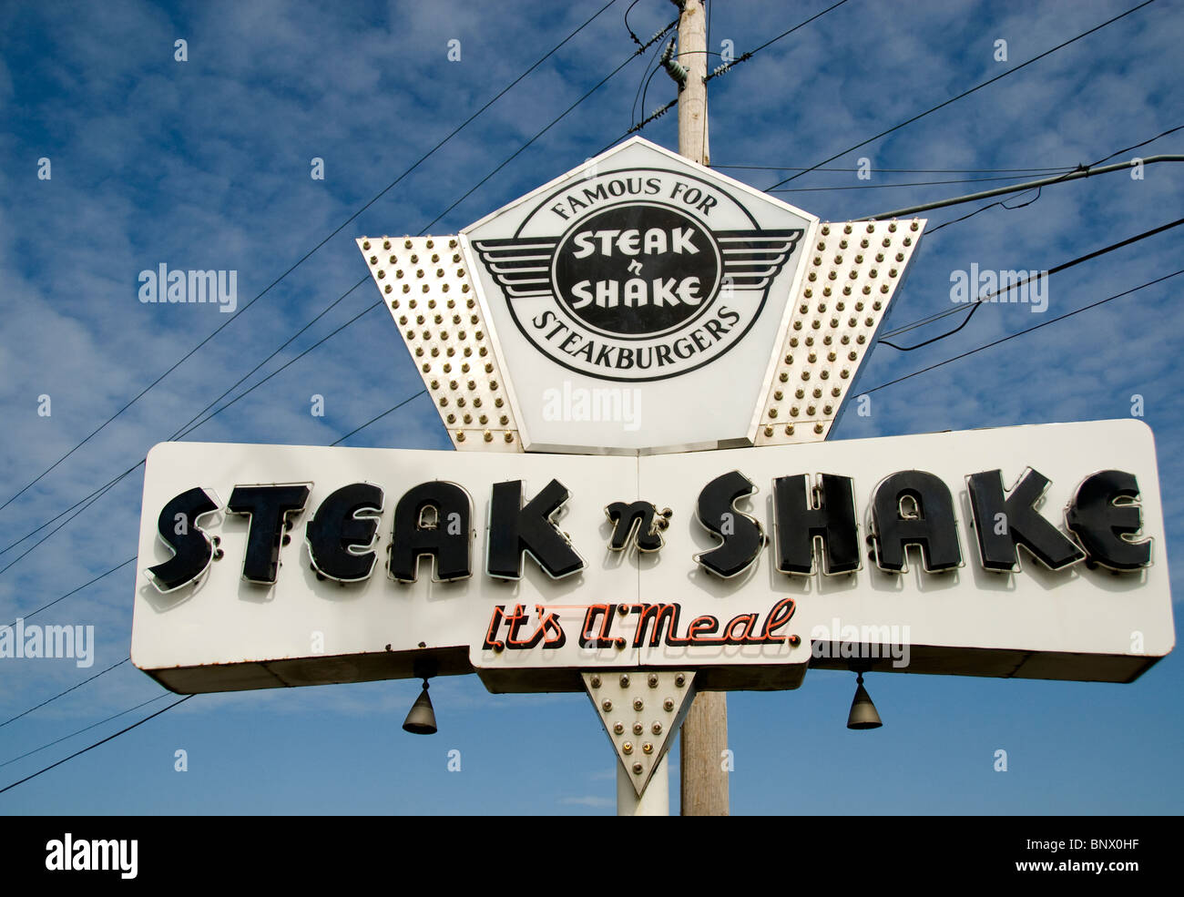 An Original Steak N Shake On Historic U S Route 66 In Springfield